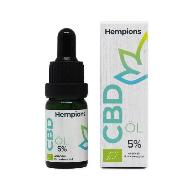 The Hempions Bio CBD- Öl 5%