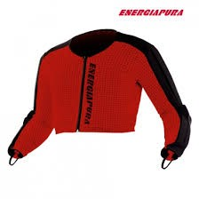 ENERGIAPURA SL Jacket Jr. red