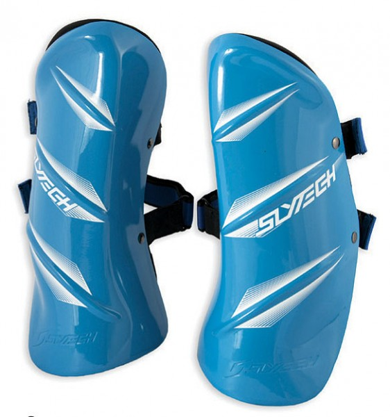 SLYTECH Shinguards Assault blue, S
