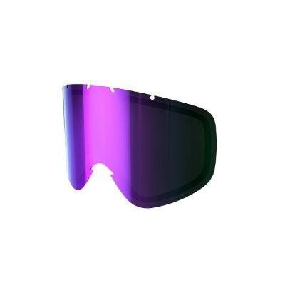 POC Iris X DL grey/purple mirror, Größe: S