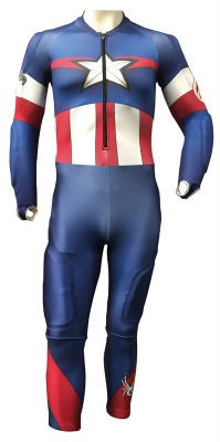 SPYDER Mens Performance Suit Marvel
