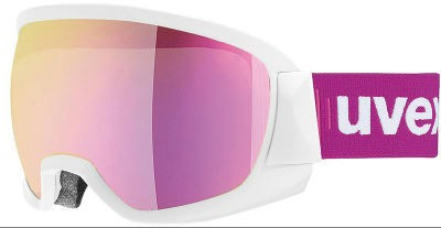 UVEX Contest FM white, mirror pink