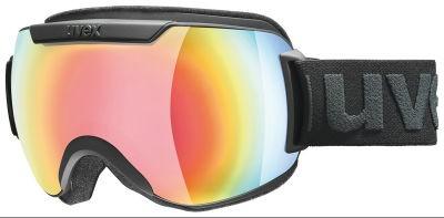 UVEX downhill2000 FM black, mirror rainbow/rose