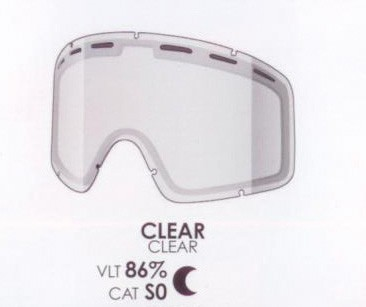 SHRED Monocle DL clear