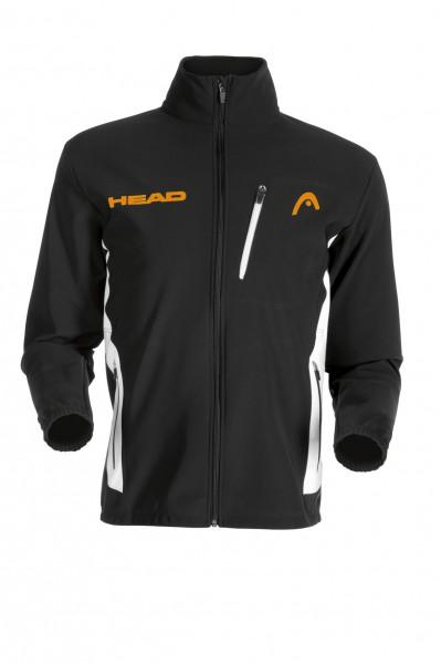 HEAD Softshell Jacket black/orange