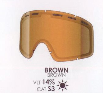 SHRED Monocle DL brown