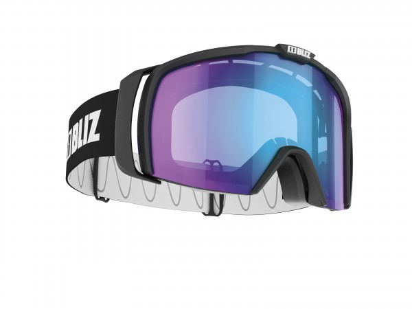 BLIZ Nova Nordic Light Black Matt/Nordic Light violet w Blue Multi S2