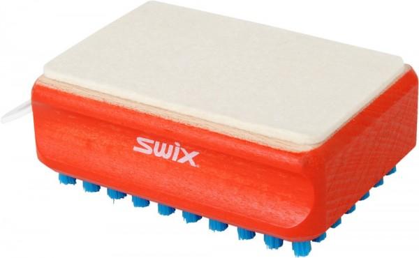 SWIX Kombibürste Nylon/ Felt