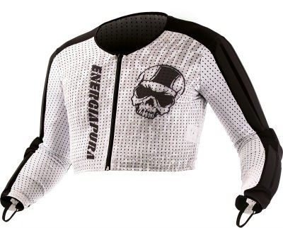 ENERGIAPURA SL Jacket Jr. white black
