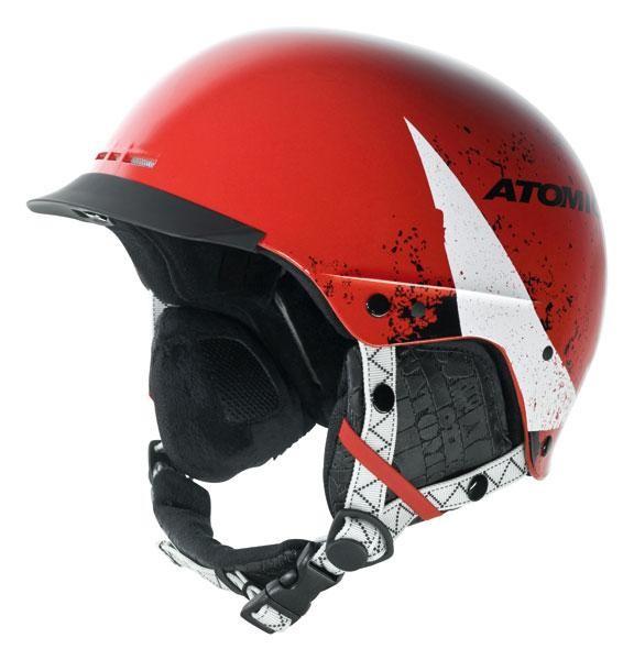 ATOMIC Helmet Troop SL Jr. red