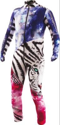 ENERGIAPURA Race Suit White Tiger Gr. M