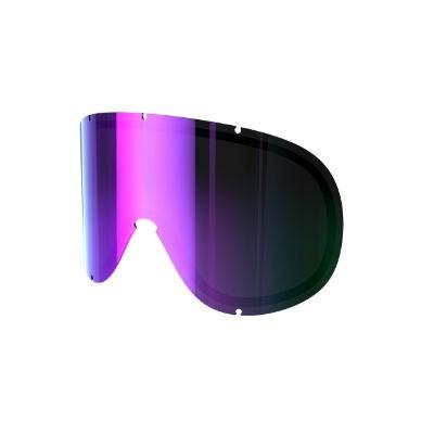 POC Retina BIG DL grey purple mirror