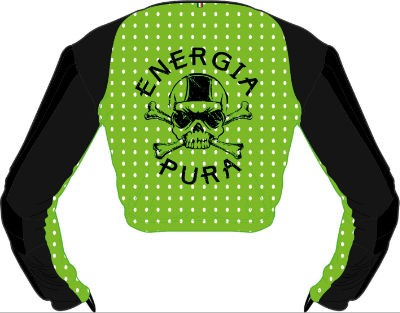 ENERGIAPURA SL Jacket Jr. green